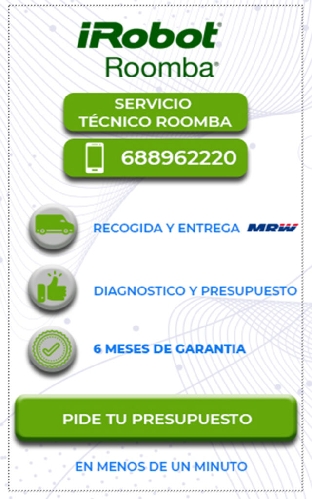 Servicio técnico Roomba en Bilbao 4